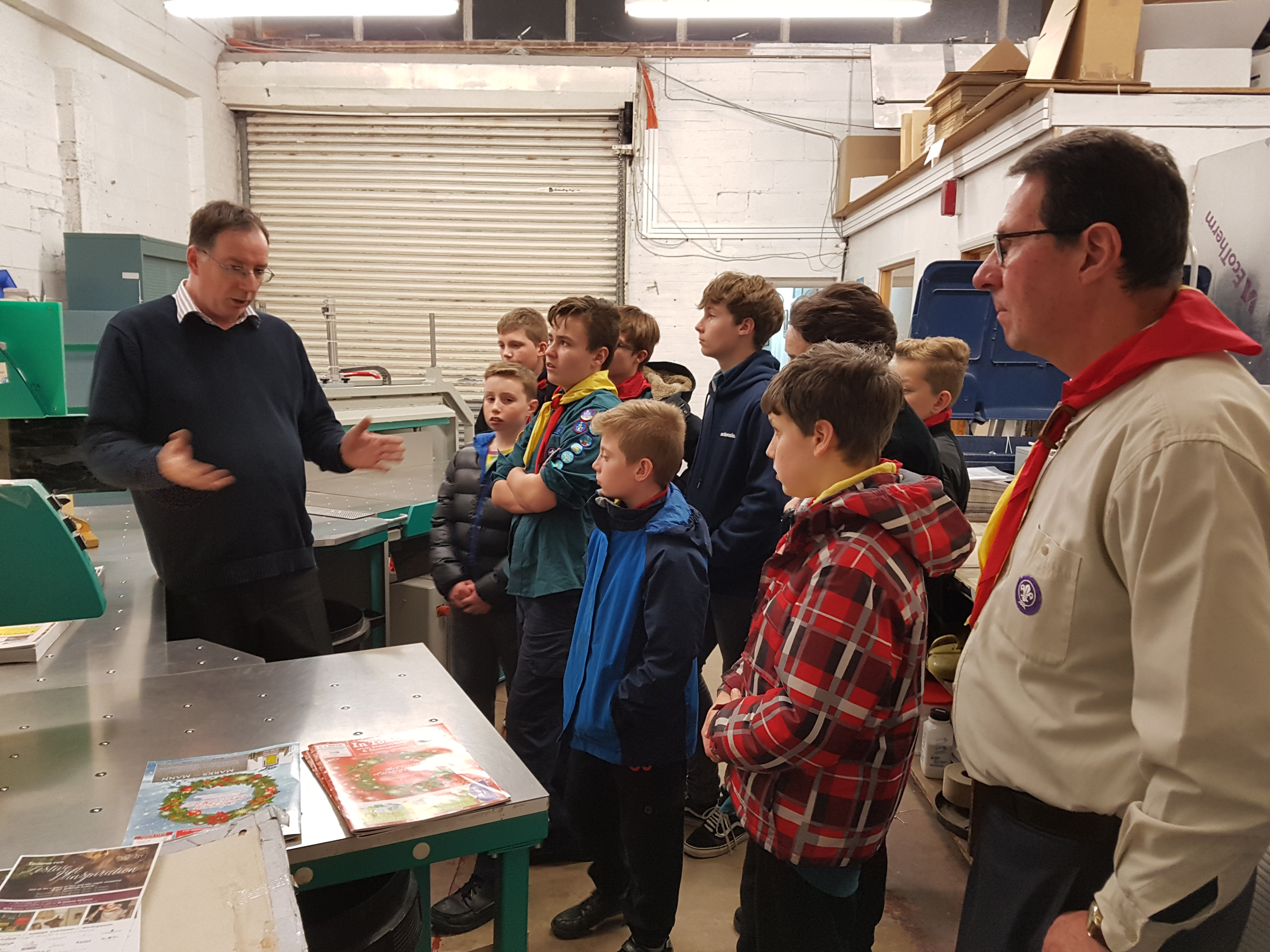 Scouts - In Touch magazine visit 2017 (3)